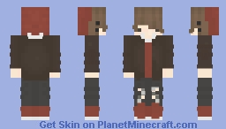 """We can still be just friends."" Minecraft Skin"