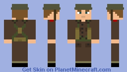 British WW2 Soldier Me Minecraft