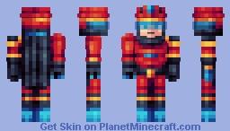 Cyborg Gunner - Personal Skin Minecraft