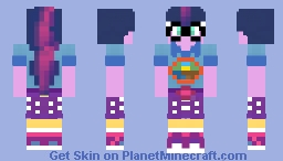 Legend of Everfree: Twilight Sparkle Minecraft Skin