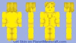yellow gentleman. Minecraft Skin