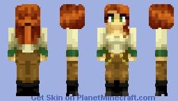 Adventurer Girl Minecraft Skin