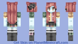 the greener side Minecraft Skin