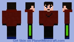 Me As Blurryface Minecraft Skin