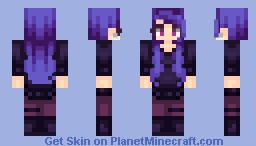 Enderman Fangirl Minecraft Skin
