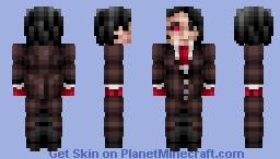 Furuta Nimura (Tokyo Ghoul :re) Minecraft Skin