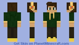 Groot Fan Guy - First skin REMAKE Minecraft Skin
