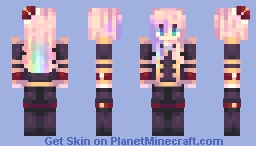 Gero Akoya ★ The Pearl Chevalier Minecraft Skin