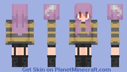 𝒯𝓈𝓊𝓃𝒶𝓂𝒾~ 𝒮𝓉𝓇𝒾𝓅𝑒𝒹 𝒮𝓌𝑒𝒶𝓉𝑒𝓇 Minecraft Skin