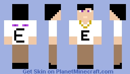 Gang V2 *The Endermen* Minecraft Skin