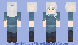 LotC Request - High Elf in a Blue Tunic Minecraft