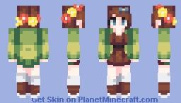 Lucy Pevensie Minecraft