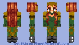 Justice League - Mera - Amber Heard Minecraft Skin