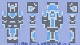 DynaBot Minecraft Skin