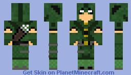 Green Arrow CW   TheArrow   Minecraft Skin