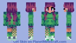 Sweater Weather Minecraft Skin