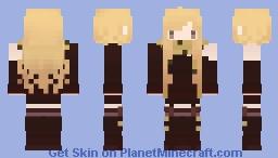 Musical Girl | Bass Minecraft Skin
