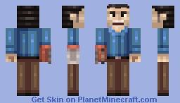 Ash Williams Minecraft Skin