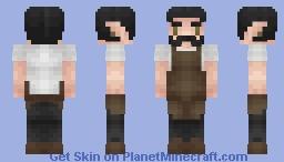 Elven Blacksmith. Minecraft Skin