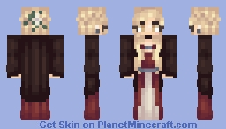 Dark Witch (alt. skin tones) Minecraft