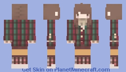 Musical Girl | Oboe Minecraft Skin