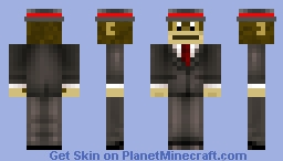 Mr. Monkey Minecraft Skin