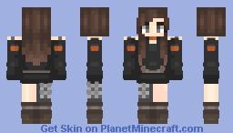 Haunting Minecraft Skin
