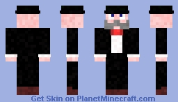 Don the baron Minecraft Skin