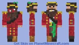 The Pirate Cap'n Minecraft Skin