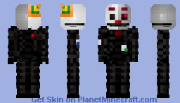 Ennard!!! FNaF Sister Location Minecraft Skin
