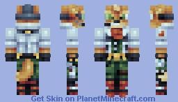 Fox McCloud Minecraft