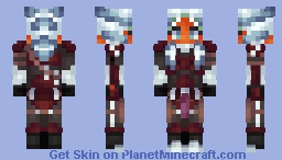 Togruta Mandalorian [Helmet Version in Desc!] [Star Wars] Minecraft Skin