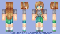 Maudie // OC Persona -edited- Minecraft Skin