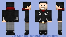 Negan (TV Show) Minecraft Skin