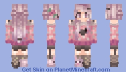 εժεռ- Bunnies and Sweaters // HAPPY BIRTHDAY NEEIII [Male Version in Desc.] Minecraft Skin