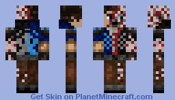 NitroStarBone Minecraft Skin