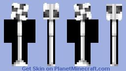 I'm a fan!! Fan puns included Minecraft Skin