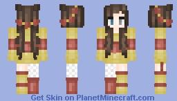 Winnie The Poohish Minecraft Skin