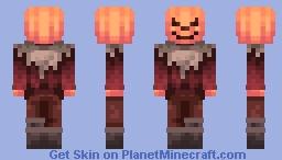 Spo0o0ky ScareCrow Minecraft Skin
