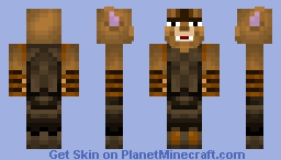 Talon the Khajiit Minecraft Skin