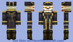 The Huntmaster Minecraft Skin
