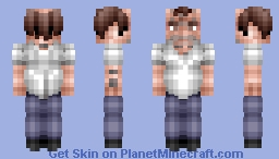 Trevor Philips (GTA V) Minecraft Skin