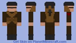 Battlefield 1   British Gasmask Soldier Minecraft Skin