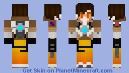 [Overwatch] Tracer Minecraft Skin