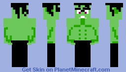 A really buff alien guy Minecraft Skin
