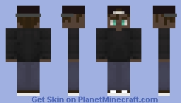 yeah a skin that i made wooooo Minecraft Skin