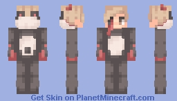 🐼~ aw look at that cute pan-- oh wait Minecraft Skin