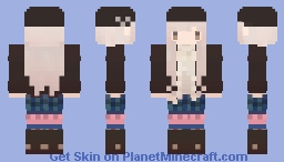 Musical Girl | Violin Minecraft Skin
