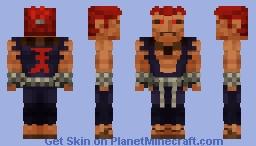 Akuma (Gouki) 1000 SUBS!? Minecraft Skin
