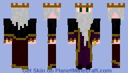 Old King Minecraft Skin